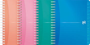 Oxford OFFICE MyColour addressbook, 160 bladzijden, ft 12 x 14,8 cm