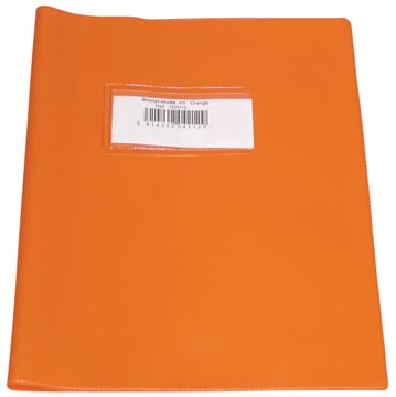 Bronyl schriftomslag ft 16,5 x 21 cm (schrift), oranje