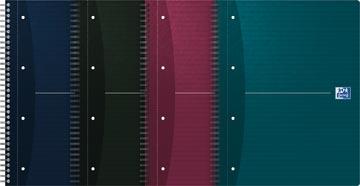 Oxford Essentials spiraalblok, ft A4+, 180 bladzijden, gelijnd, 4-gaatsperforatie