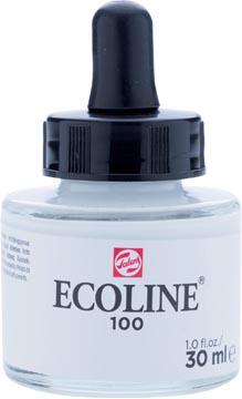Talens Ecoline waterverf flacon van 30 ml, wit