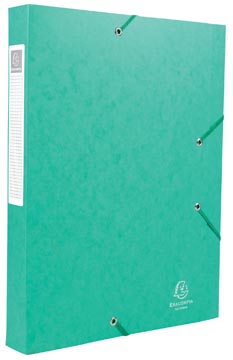 Exacompta Elastobox Cartobox rug van 4 cm, groen, kwaliteit 7/10e