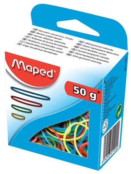 Maped elastieken doos van 50 g