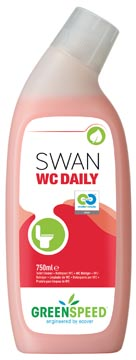 Greenspeed toiletreiniger Swan WC Daily, dennenfris, flacon van 750 ml