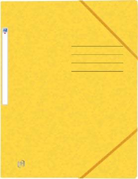 Oxford Top File+ elastomap, voor ft A4, geel