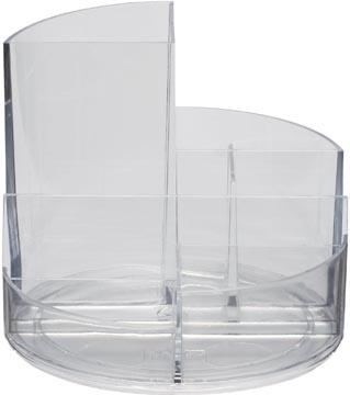 Maul Bureaustandaard Roundbox, transparant
