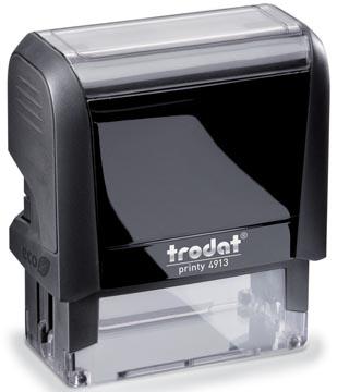 Trodat Printy tekststempel, met voucher Printy 4913, ft 58 x 22 mm, op blister