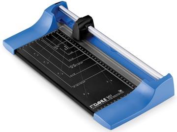 Dahle rolsnijmachine 507 voor ft A4, capaciteit: 8 vel, blauw