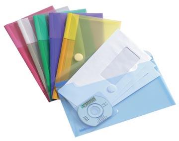 Tarifold documentenmap Collection Color voor ft cheque (250 x 135 mm), pak van 6 stuks