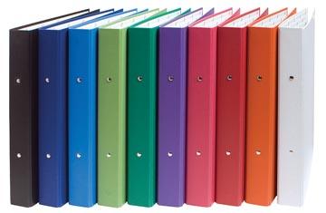 Exacompta Ringmap geassorteerde kleuren: wit, oranje, rood, roze, paars, groen, lichtgroen, blauw, donker