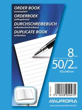 Aurora orderbook ft 10,5 x 14 cm