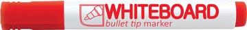 Crown whiteboardmarker rood