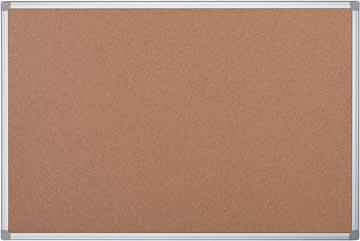 Pergamy kurkbord met aluminium frame ft 90 x 60 cm