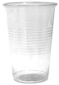 Drinkbeker uit PP, 200 ml, transparant, pak van 100 stuks