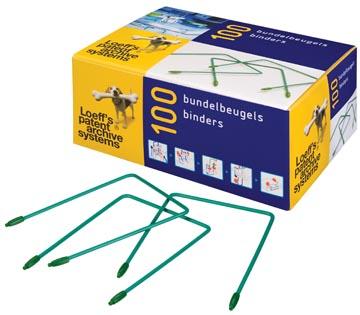 Loeff's bundelbeugel Lengte: 180 mm, doos van 100 stuks