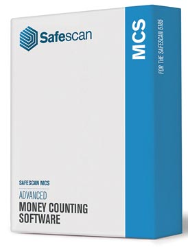 Safescan software MCS 131-0500, voor biljettelmachines