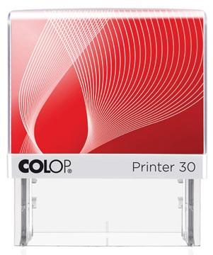 Colop stempel met voucher systeem Printer Printer 30, max. 5 regels, ft 47 x 18 mm