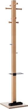 Kapstok Easycloth model B, uit hout, zwart
