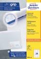 Avery Zweckform 3474, Universele etiketten, Ultragrip, wit, 200 vel, 24 per vel, 70 x 37 mm